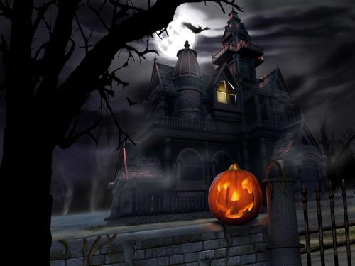 Happy Halloween, Halloween, Spooky, Pumpkin, Haunted House, Blog A Book Etc, Fay