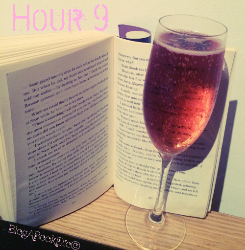 Hour 9, Readathon, 24 Hour Readathon, Read-a-thon, Dewey's 24 Hour Readathon, Reading, Books, Fiction, Champagne, Champagne and Books, Chick Lit, Fiction, Women's Fiction, Blog A Book Etc, Fay, From Notting Hill with Love . . . Actually, Ali McNamara, Lanson, Lanson Champagne, Lanson Rose