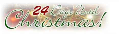 Christmas, 24 Days, Countdown, Blog A Book Etc, Fay
