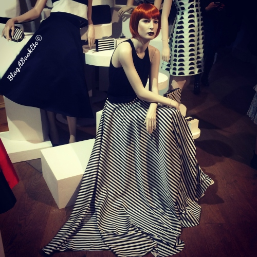 Coast, SS15, Spring, Summer, 2015, Fashion, Skirts, Monochrome, Black, White, Stripes, Blog A Book Etc, Fay, Press