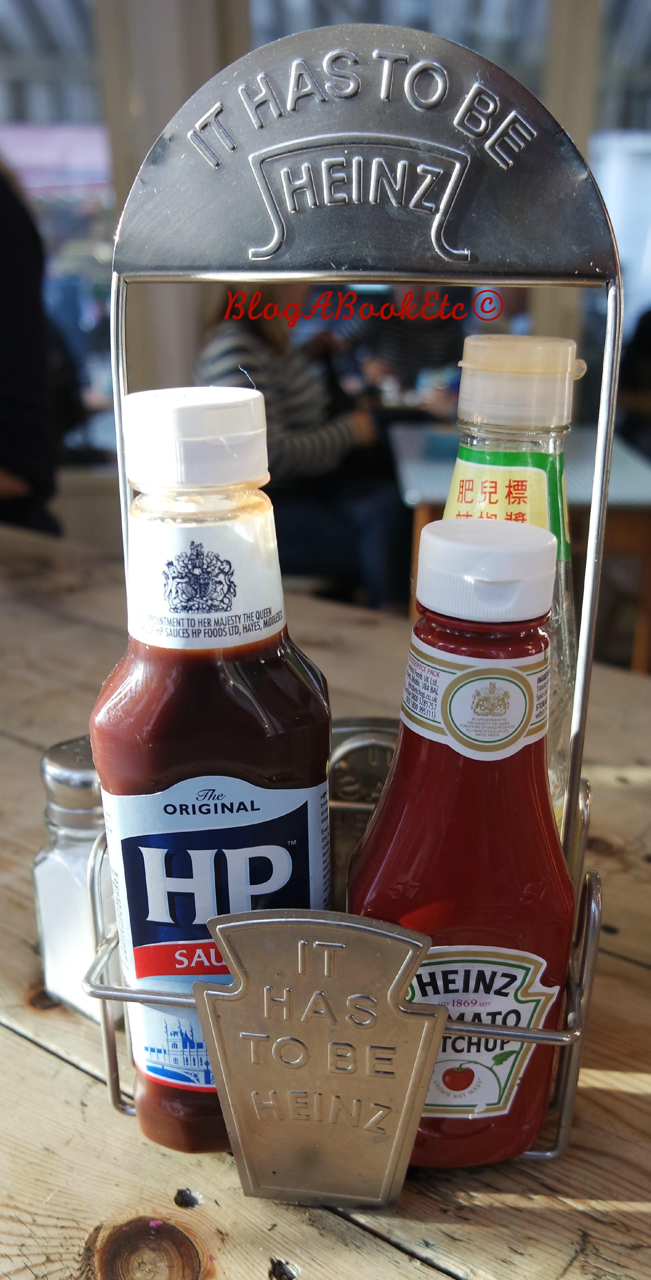 M1LK, Sauces, Heinz, HP, Red Sauce, Brown Sauce, Breakfast, Balham, London, Blog A Book Etc, Fay