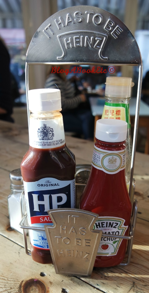 M1LK, Sauces, Heinz, HP, Red Sauce, Brown Sauce, Breakfast, Balham, London, Blog A Book Etc, Fay