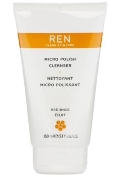 REN, Micro Polish Cleanser, Cleanser, Face, Beauty, Skincare, Blog A Book Etc, Fay