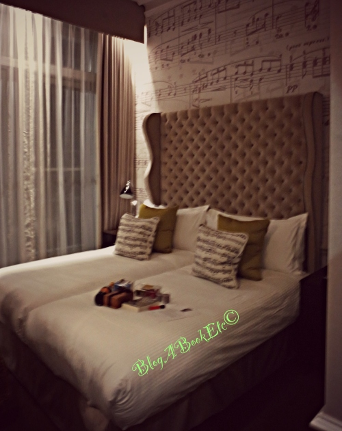 Ampersand Hotel, Hotel, Music, Theme, Goodies, Captivated By You, Sylvia Day, Penguin, #CaptivatedByYouSleepover, Premier Publicity, Blog A Book Etc, Fay