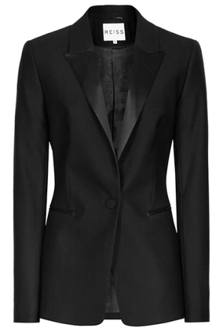 Reiss, Pfeiffer, Slim-Fit, Wool Blazer, Black, Smart, Fashion, Christmas, Season, A/W14, Winter, Christmas, Blog A Book Etc, Fay