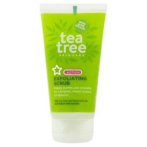 Superdrug, Tea Tree, Exfoliator, Scrub, Beauty, Skincare, Blog A Book Etc, Fay
