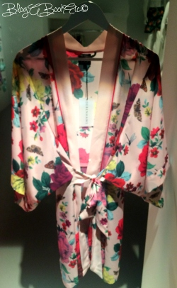 Debenhams, SS15, Spring, Summer, Press Day, Comments, Fashion, Home, Blog A Book Etc, Fay, Flowers, Floral, Kimono, Nightwear, Sleepwear, Underwear
